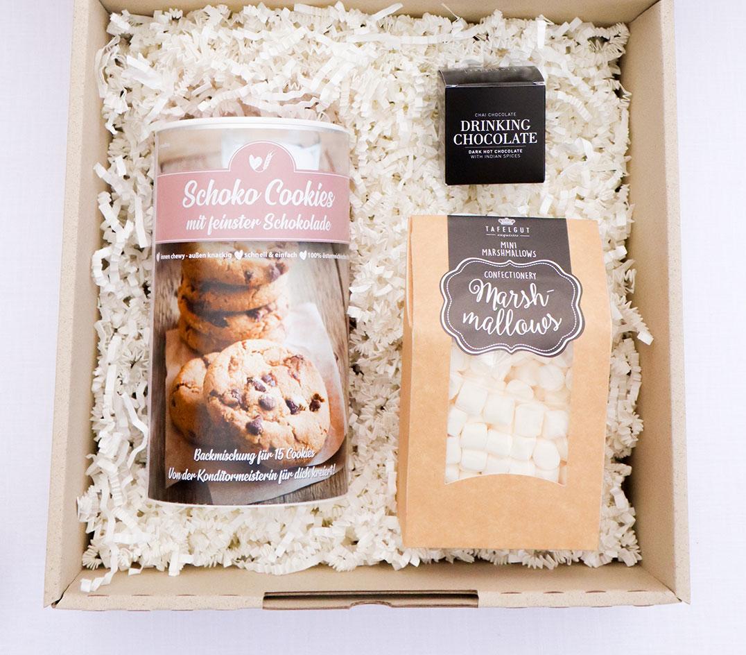 Cookie Box mit Marshmallows und Trinkschokolade (2)