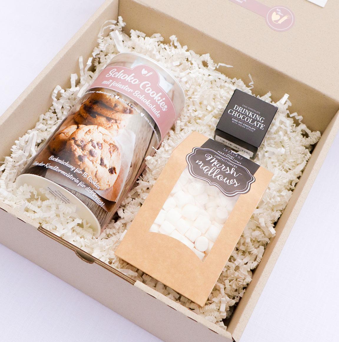 Cookie Box mit Marshmallows und Trinkschokolade (3)
